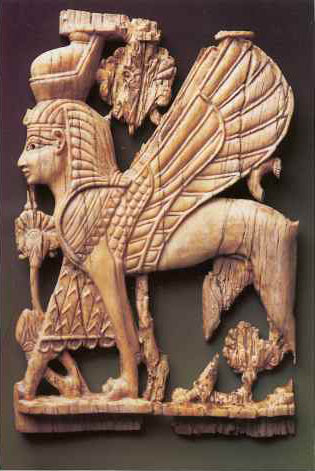 A splendid ivory cherub from 9th–8th century BC Samaria